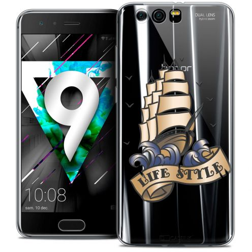 """Coque Crystal Gel Huawei Honor 9 (5.15"""") Extra Fine Tatoo Lover - Life Style"""