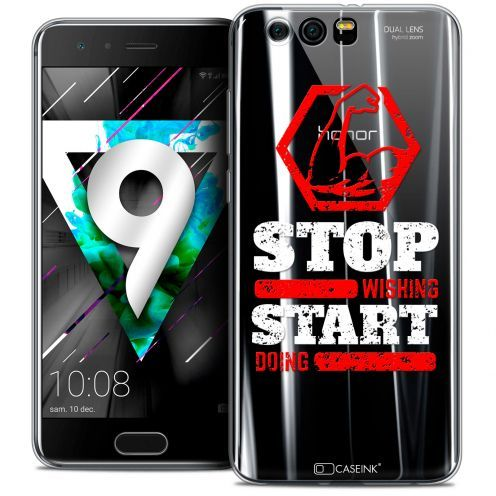 """Coque Crystal Gel Huawei Honor 9 (5.15"""") Extra Fine Quote - Start Doing"""