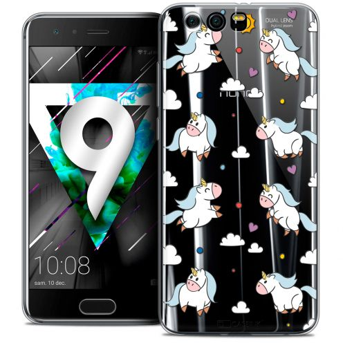 """Coque Crystal Gel Huawei Honor 9 (5.15"""") Extra Fine Fantasia - Licorne In the Sky"""