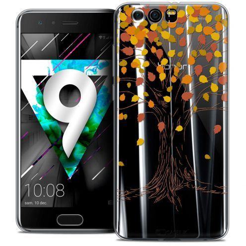 """Coque Crystal Gel Huawei Honor 9 (5.15"""") Extra Fine Autumn 16 - Tree"""