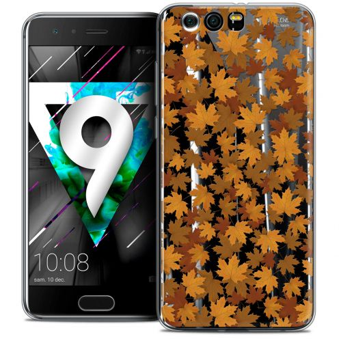 """Coque Crystal Gel Huawei Honor 9 (5.15"""") Extra Fine Autumn 16 - Feuilles"""