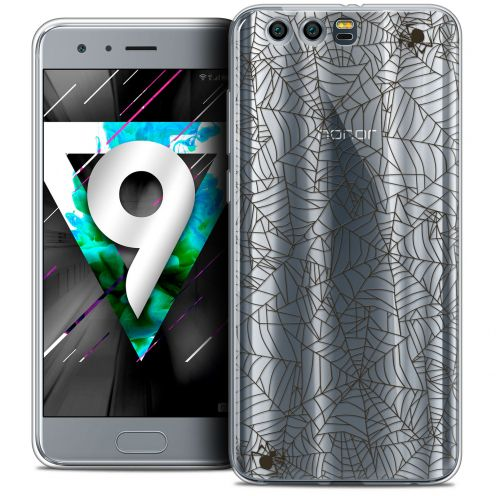 """Coque Crystal Gel Huawei Honor 9 (5.15"""") Extra Fine Halloween - Spooky Spider"""