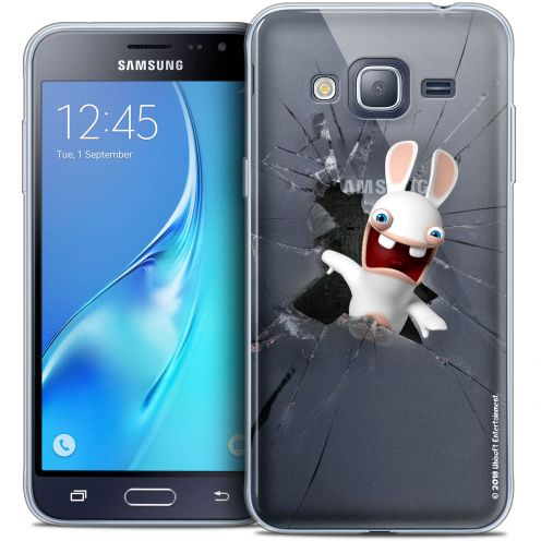 Coque Samsung Galaxy J3 2016 (J320) Extra Fine Lapins Crétins™ - Breaking Glass
