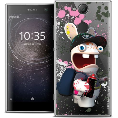 """Coque Gel Sony Xperia XA2 (5.2"""") Extra Fine Lapins Crétins™ - Painter"""