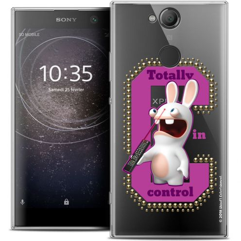 "Coque Gel Sony Xperia XA2 (5.2"") Extra Fine Lapins Crétins™ - In Control !"