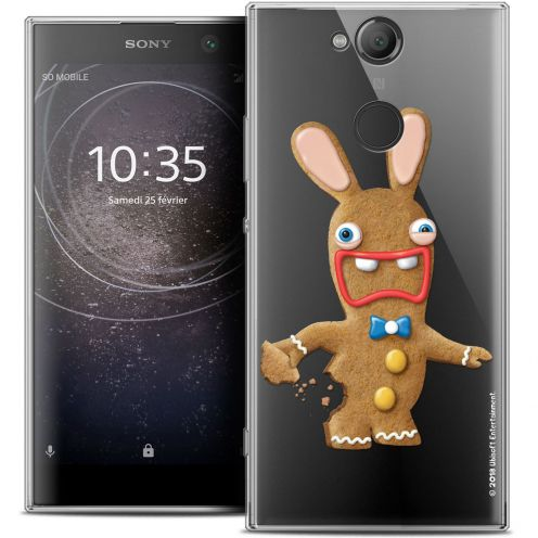 """Coque Gel Sony Xperia XA2 (5.2"""") Extra Fine Lapins Crétins™ - Cookie"""