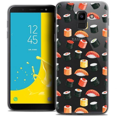 """Coque Crystal Gel Samsung Galaxy J6 2018 J600 (5.6"""") Extra Fine Foodie - Sushi"""