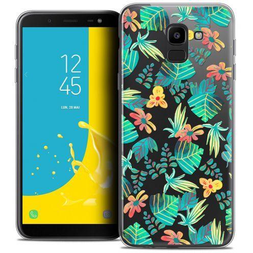 """Coque Crystal Gel Samsung Galaxy J6 2018 J600 (5.6"""") Extra Fine Spring - Tropical"""