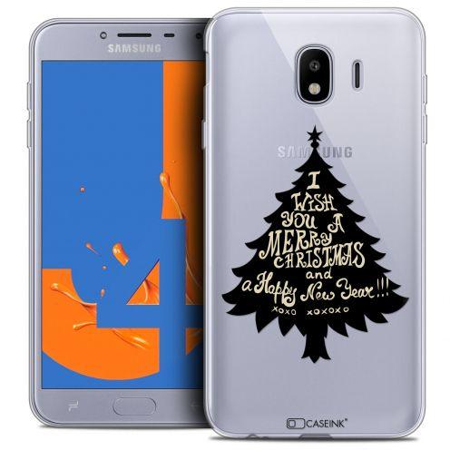 "Coque Crystal Gel Samsung Galaxy J4 2018 J400 (5.5"") Extra Fine Noël 2017 - XOXO Tree"