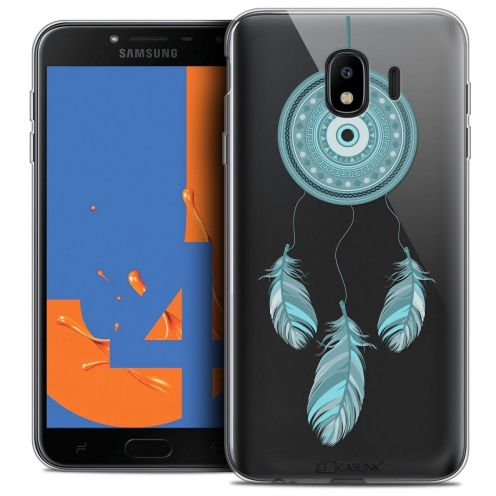"Coque Crystal Gel Samsung Galaxy J4 2018 J400 (5.5"") Extra Fine Dreamy - Attrape Rêves Blue"