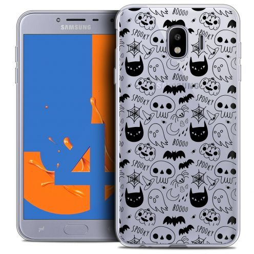 "Coque Crystal Gel Samsung Galaxy J4 2018 J400 (5.5"") Extra Fine Halloween - Spooky"