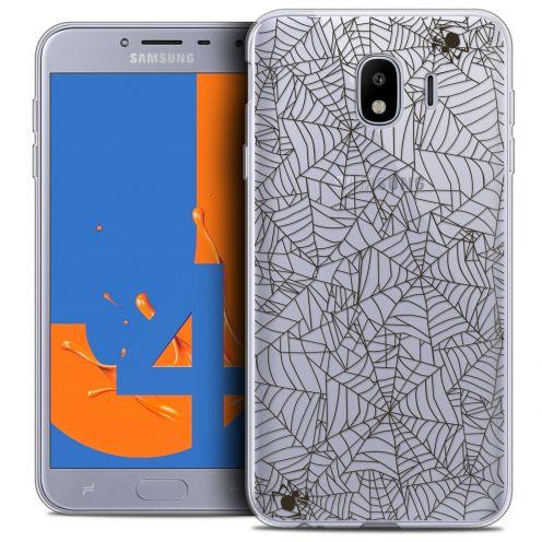 "Coque Crystal Gel Samsung Galaxy J4 2018 J400 (5.5"") Extra Fine Halloween - Spooky Spider"
