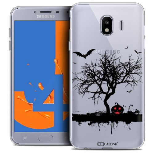 "Coque Crystal Gel Samsung Galaxy J4 2018 J400 (5.5"") Extra Fine Halloween - Devil's Tree"
