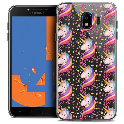 "Coque Crystal Gel Samsung Galaxy J4 2018 J400 (5.5"") Extra Fine Fantasia - Licorne Etoilée"