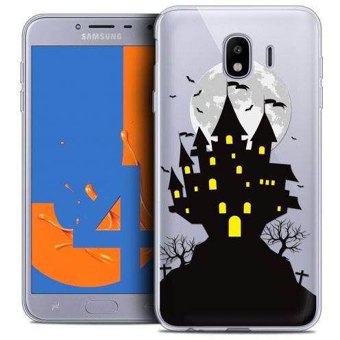 """Coque Crystal Gel Samsung Galaxy J4 2018 J400 (5.5"""") Extra Fine Halloween - Castle Scream"""