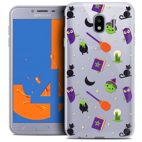 "Coque Crystal Gel Samsung Galaxy J4 2018 J400 (5.5"") Extra Fine Halloween - Witch Potter"