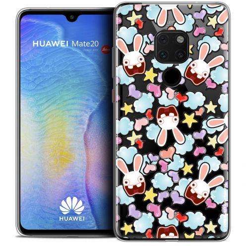 """Coque Gel Xiaomi Mate 20 (6.5"""") Extra Fine Lapins Crétins™ - Love Pattern"""