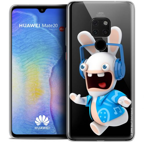 """Coque Gel Xiaomi Mate 20 (6.5"""") Extra Fine Lapins Crétins™ - Techno Lapin"""
