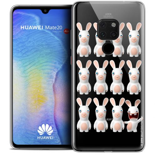 """Coque Gel Xiaomi Mate 20 (6.5"""") Extra Fine Lapins Crétins™ - Im ready Pattern"""
