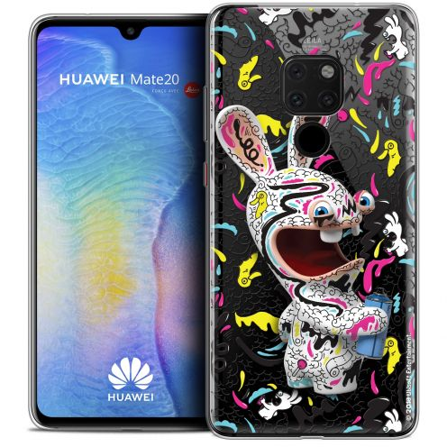 """Coque Gel Xiaomi Mate 20 (6.5"""") Extra Fine Lapins Crétins™ - Tag"""