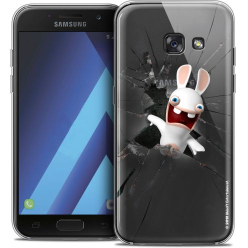 """Coque Gel Samsung Galaxy A7 2017 A700 (5.7"""") Extra Fine Lapins Crétins™ - Breaking Glass"""
