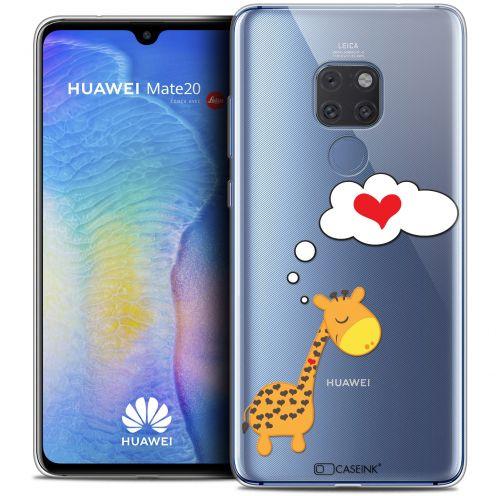 "Coque Crystal Gel Xiaomi Mate 20 (6.5"") Extra Fine Love - Girafe Amoureuse"