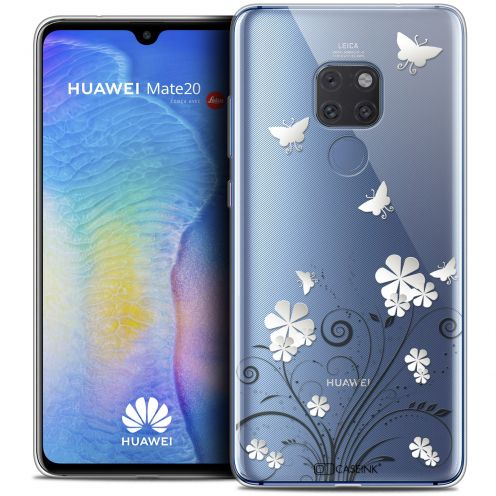 """Coque Crystal Gel Xiaomi Mate 20 (6.5"""") Extra Fine Summer - Papillons"""