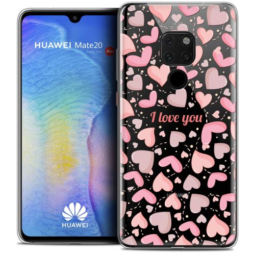 "Coque Crystal Gel Xiaomi Mate 20 (6.5"") Extra Fine Love - I Love You"