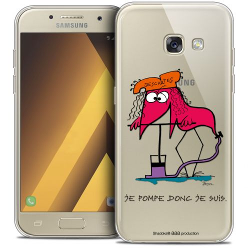 """Coque Gel Samsung Galaxy A7 2017 A700 (5.7"""") Extra Fine Les Shadoks® - Donc Je Suis"""