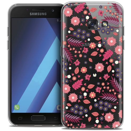 "Coque Crystal Gel Samsung Galaxy A7 2017 A700 (5.7"") Extra Fine Spring - Printemps"