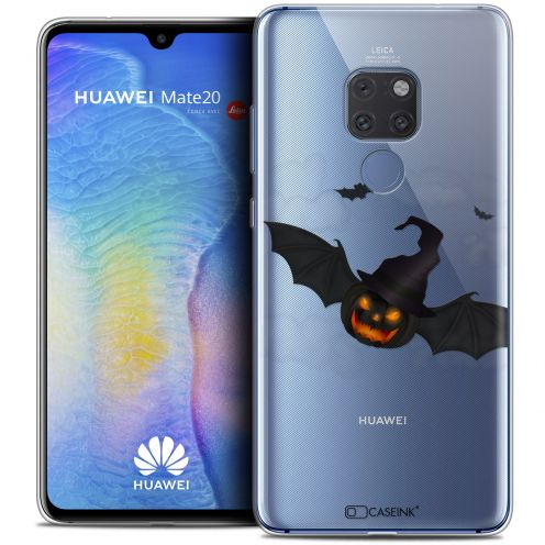 "Coque Crystal Gel Xiaomi Mate 20 (6.5"") Extra Fine Halloween - Chauve Citrouille"