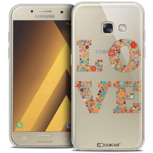 """Coque Crystal Gel Samsung Galaxy A7 2017 A700 (5.7"""") Extra Fine Summer - Love Flowers"""