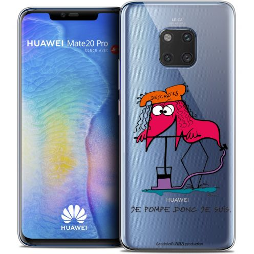 "Coque Gel Huawei Mate 20 PRO (6.4"") Extra Fine Les Shadoks® - Donc Je Suis"