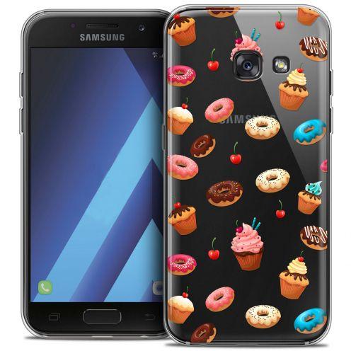 "Coque Crystal Gel Samsung Galaxy A7 2017 A700 (5.7"") Extra Fine Foodie - Donuts"