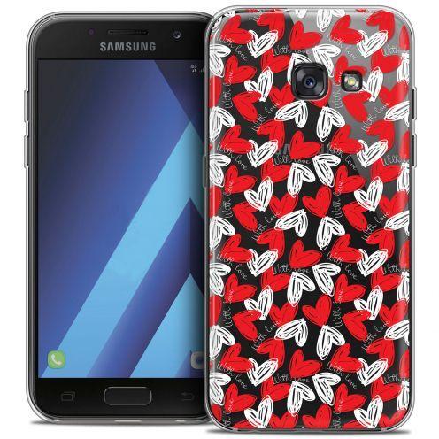 "Coque Crystal Gel Samsung Galaxy A7 2017 A700 (5.7"") Extra Fine Love - With Love"