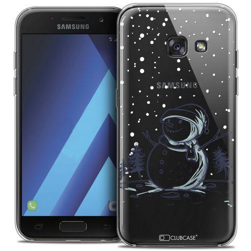 """Coque Crystal Gel Samsung Galaxy A7 2017 A700 (5.7"""") Extra Fine Noël 2017 - Bonhomme de Neige"""