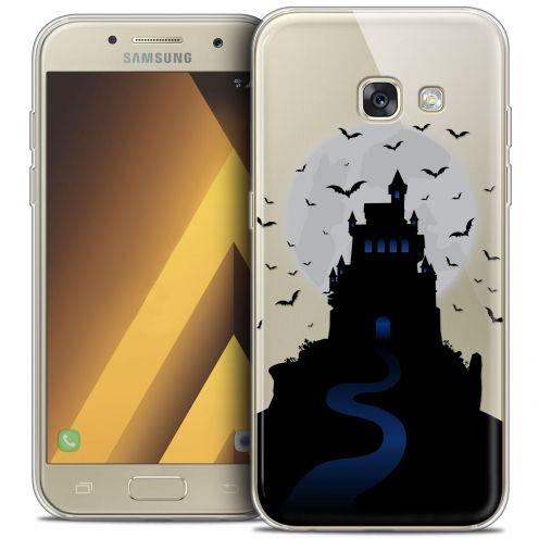 "Coque Crystal Gel Samsung Galaxy A7 2017 A700 (5.7"") Extra Fine Halloween - Castle Nightmare"