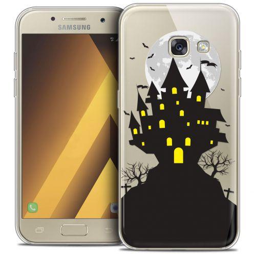 """Coque Crystal Gel Samsung Galaxy A7 2017 A700 (5.7"""") Extra Fine Halloween - Castle Scream"""