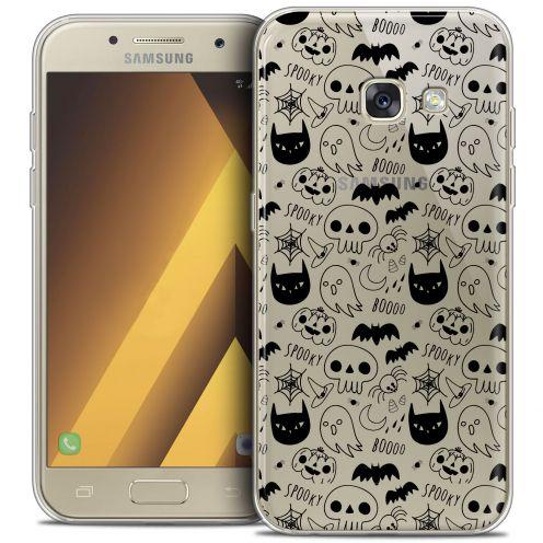 "Coque Crystal Gel Samsung Galaxy A7 2017 A700 (5.7"") Extra Fine Halloween - Spooky"