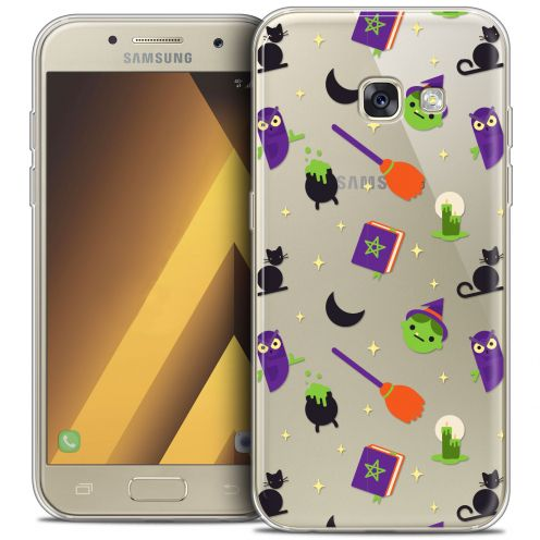 """Coque Crystal Gel Samsung Galaxy A7 2017 A700 (5.7"""") Extra Fine Halloween - Witch Potter"""