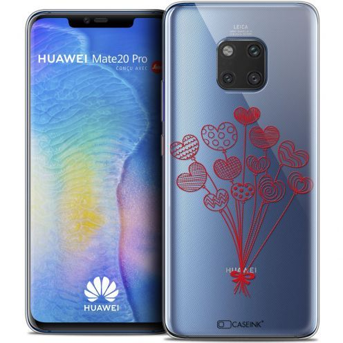 "Coque Crystal Gel Huawei Mate 20 PRO (6.4"") Extra Fine Love - Ballons d'amour"