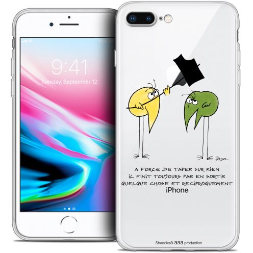 """Coque Gel Apple iPhone 8 Plus (5.5"""") Extra Fine Les Shadoks® - A Force"""