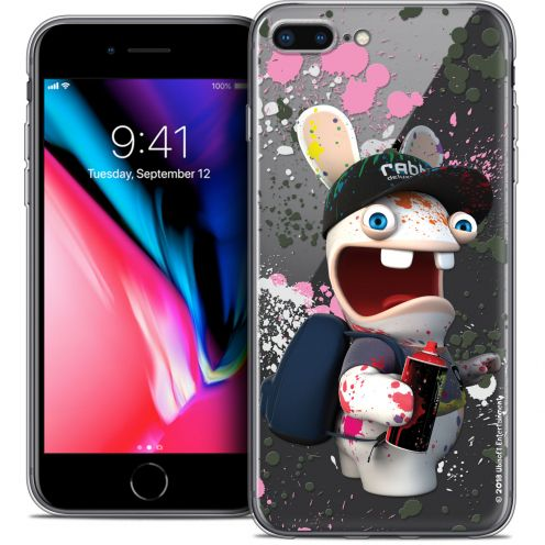 "Coque Gel Apple iPhone 7 Plus (5.5"") Extra Fine Lapins Crétins™ - Painter"
