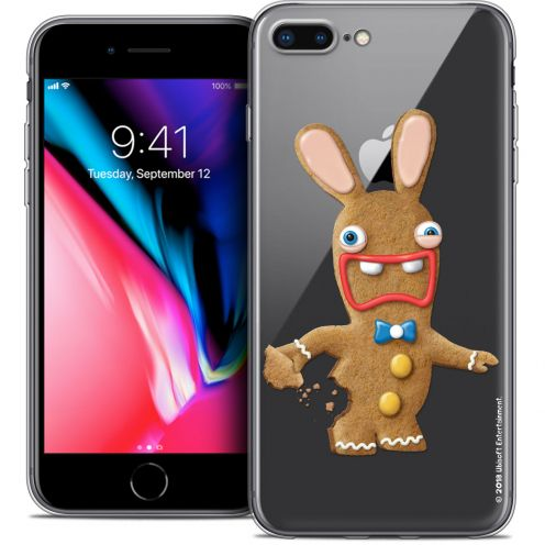 "Coque Gel Apple iPhone 7 Plus (5.5"") Extra Fine Lapins Crétins™ - Cookie"
