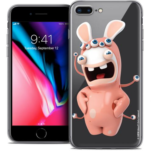 "Coque Gel Apple iPhone 7 Plus (5.5"") Extra Fine Lapins Crétins™ - Extraterrestre"