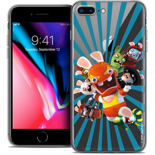"Coque Gel Apple iPhone 7 Plus (5.5"") Extra Fine Lapins Crétins™ - Super Heros"