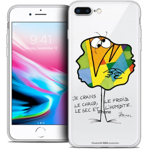 "Coque Gel Apple iPhone 7 Plus (5.5"") Extra Fine Les Shadoks® - Chaud ou Froid"