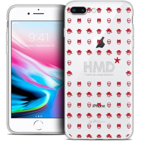 "Coque Gel Apple iPhone 7 Plus (5.5"") Extra Fine Petits Grains® - HMD* Hero en Mode Discret"