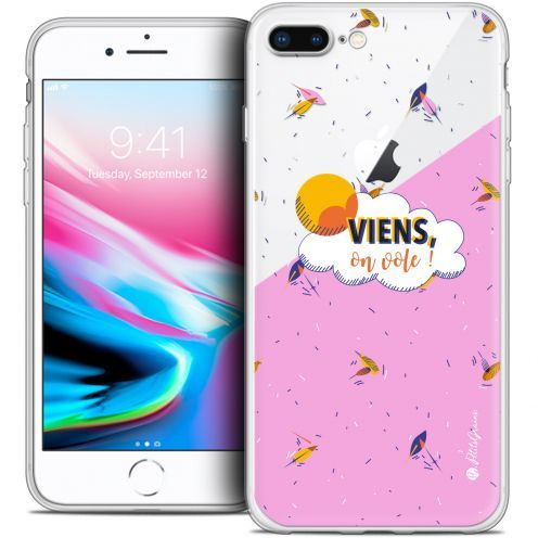"Coque Gel Apple iPhone 7 Plus (5.5"") Extra Fine Petits Grains® - VIENS, On Vole !"
