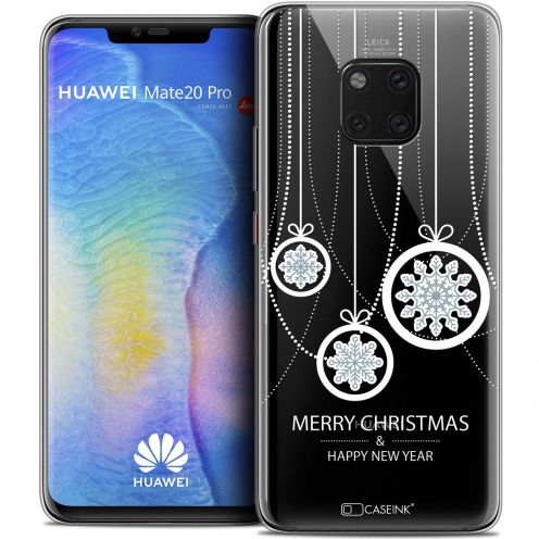 "Coque Crystal Gel Huawei Mate 20 PRO (6.4"") Extra Fine Noël 2017 - Christmas Balls"